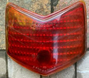 Original Oem 1940 Ford Stimsonite Duolamp Glass Tail Light Lens