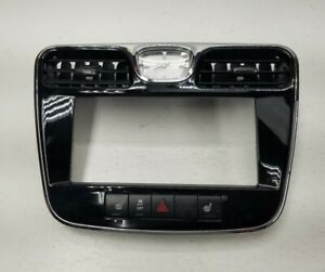 Clock And Trim Chrysler 200 Dashboard With Vents 2011 2012 2013 2014 Black