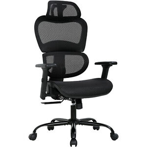 Home Office Chair Mesh Desk Chair Ergonomic Computer Chair With 3d Arms Back Lum