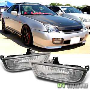 For 1997 2002 Honda Prelude Bumper Fog Lights Lamps 97 98 99 00 01 02 Left Right