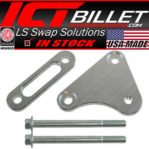 Ls Truck Idler Pulley Relocation Bracket For Ls1 Intake Manifold Swap