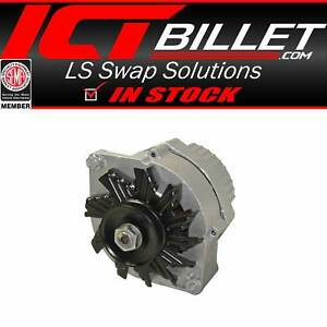 Alternator 63 Amp 10si One Wire For Sbc Bbc