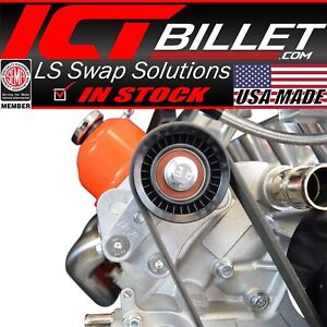 Ls1 98 02 Camaro Z28 Manual Belt Tensioner W Pulley Ls Ls2 Gto Billet Aluminum