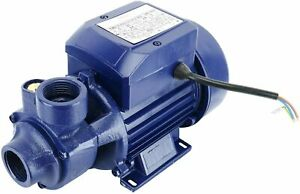1 2hp 110v Electric Industrial Centrifugal Clear Clean Water Pump Pool Pond New