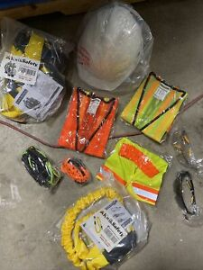 Kwiksafety Protection Kit Thunder 3 d Harness Vests Hard Hat Safety Lanyard