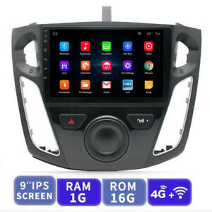 For 2012 2017 Ford Focus Car Stereo Radio 9 Android 9 1 Gps Obd Wifi Canbus