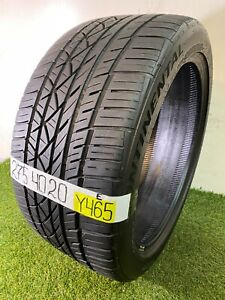 275 40 20 106y Used Tire Continental Surecontact Rx 74 7 4 32nds Y465