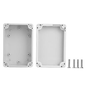 Junction Box Abs Plastic Waterproof Ip65 Electrical Project Enclosure
