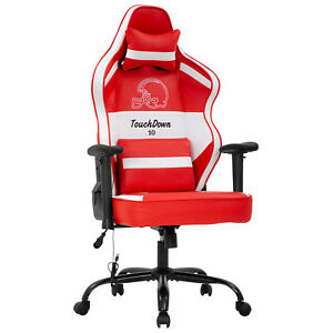 Gaming Chair Big And Tall Office Chair 500lb Wide Seat Desk Chair With Lumbar
