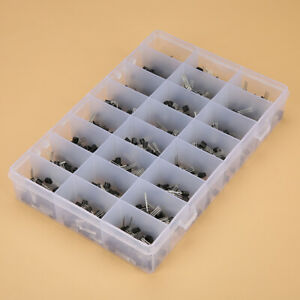 Assortment Of Transistor Kit Storage Box