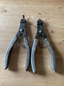 Vintage K d Tools 2 No 446 Snap Ring Pliers Usa