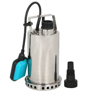 1hp Stainless Steel Submersible Pump Sump Dirty Clean Water Pump W 26ft Cable