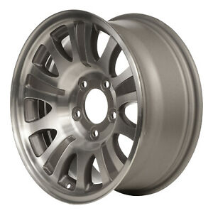 03412 Reconditioned Factory Oem Wheel 17 X 7 5 Machined W Beige