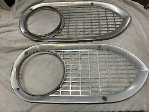 61 67 1961 1967 Ford Econoline Van Headlight Bezels Oem