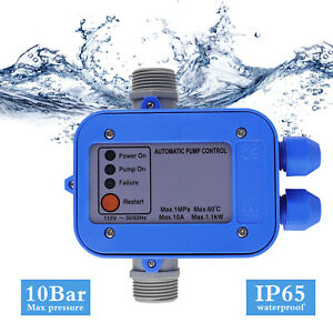 110v Automatic Water Pump Electronic Switch Control Pressure Controller Electric