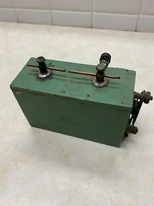 Antique Ford Model A T Wood Battery