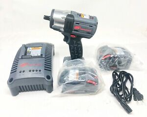 Ingersoll Rand W5152 K22 Cordless 1 2 Impact Wrench 2 Batteries Bag Charger