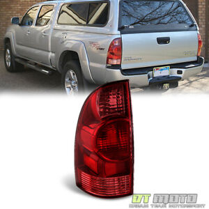 For 2005 2008 Toyota Tacoma Tail Lights Brake Lamp 05 08 Replacement Driver Side