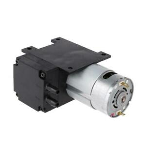 12v Mini Vacuum Pump 8l min High Pressure Suction Diaphragm Pumps With Holder