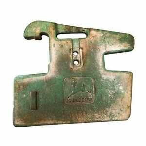 Used Suitcase Weight Right Hand 50kg John Deere L38450