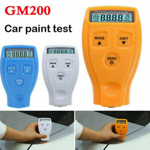Gm200 Lcd Digital Auto Car Paint Coating Thickness Tester Measuring Gauge Meter