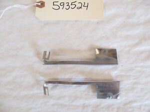 1959 Buick Vent Wing Window Trim L r Oem
