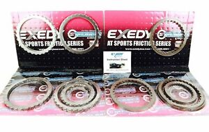 Exedy Stage 2 Cutch Pack For 2011 2017 Mustang Gt 6r80 Transmission Efk291hp2stl