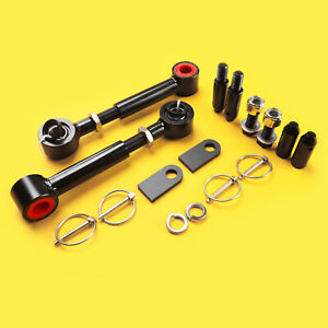 Front Quick Sway Bar Disconnect 0 6 Lift Kit Jeep Wrangler Yj 1987 1995