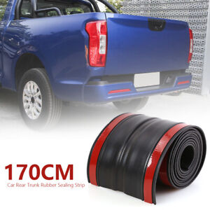 67x4 Inch Rubber Truck Bed Tailgate Gap Cover Filler Seal Shield Cap Universal