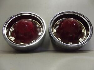 1961 Oldsmobile 88 Tail Lights Lamp Housing Olds