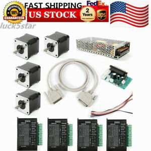 Cnc Kit 4 Axis Professional Control Board Nema17 0 4n m Stepper Motor Low Noise