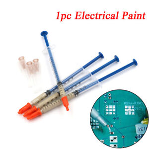 Board Silver Conductive Adhesive Electrical Paint Conduction Paste Glue Wire