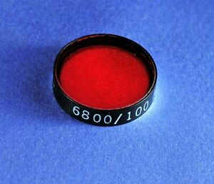 25 Mm Dia 680 Nm Bandpass Filter andover Glass Laser Optical Interference Bpf