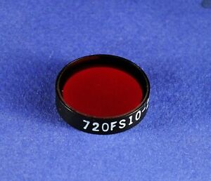 25 Mm Dia 720 Nm Interference bandpass Filter andover Laser Optical Glass Bpf