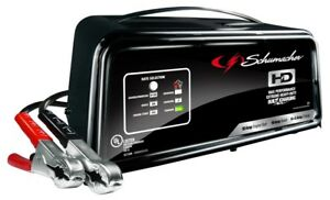 New Schumacher Sc1361 Automatic Battery Charger Steel 2 10 50 Amp 7209828