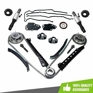 For 05 08 Ford 5 4l F150 F250 Timing Chain Kit Cam Phaser Timing cover Seal Set