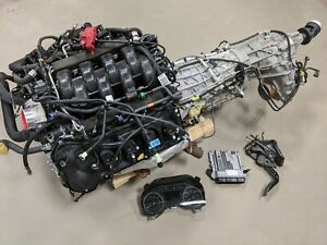 2019 F150 5 0 Coyote Engine Liftout 10r80 4wd Trans Complete 6k Miles Warranty