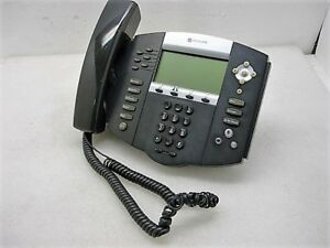 Polycom Ip650 Sip Soundpoint Digital Ip Phone W Handset And Base