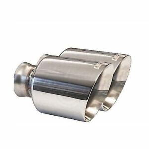 Carven Cd1002 5 Stainless Polish Exhaust Tip For Dodge Charger 2015 2020