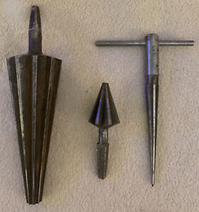 Lot Of 3 Metalworkers Reamer Deburring Tools inv 5