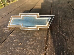 1968 72 Chrome Chevy Truck Bowtie Grill Emblem Gm Part Pt3970783 C K Models