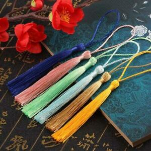 Buddha Bead Counter Decoration Polyester Tassels With Hanging Ring Silk Sewing