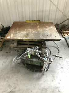 Hydraulic Lift Table 66 X 54 15 Height 208 230 480v 3ph