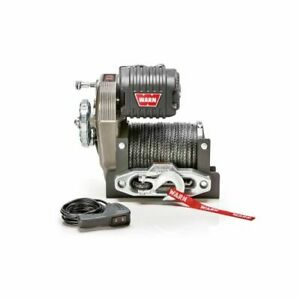 Warn 106175 M8274 s Series 10 000 Lbs Winch With Synthetic Rope New