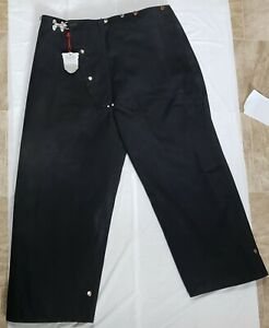 Janesville Firefighter Pants Bunker Turnout Gear Black Size 42x38 New With Defec