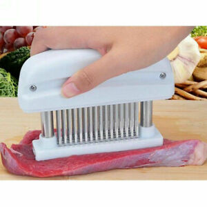 48 stainless Steel Blade Meat Tenderizer Food Grade Plastic Meat Poultry Tools