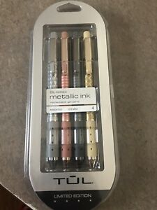 New Tul Retractable Pen Gel Metallic Ink Limited Edition Med 0 8