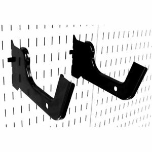 Wall Control Heavy Duty Pegboard Hook Slotted Pair Metal Heavy duty Hooks For
