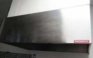 Pizza Hood Commercial Restaurant Kitchen Exhaust 5 5 X 42 X 24 Air Return
