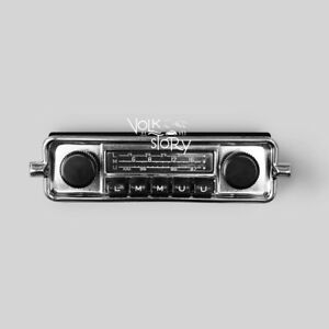Car Radio Vintage Classic Vw Volkswagen Beetle Aux Usb Bluetooth